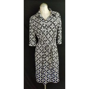 Maggy London Size 12 Belted Dress